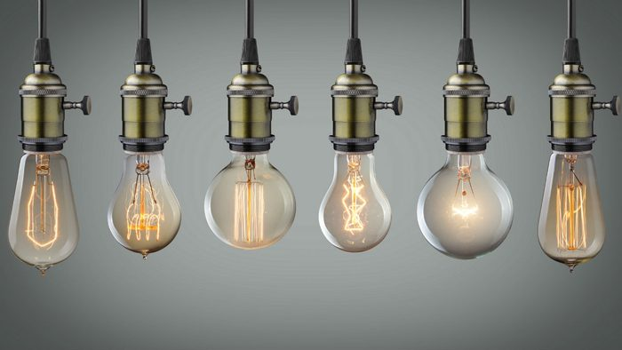 G spot, every woman is different, row of different shaped light bulbs