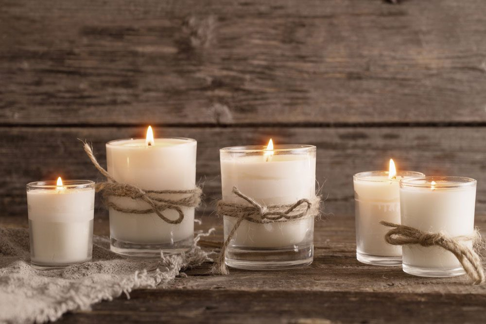 vanilla-scented-candles