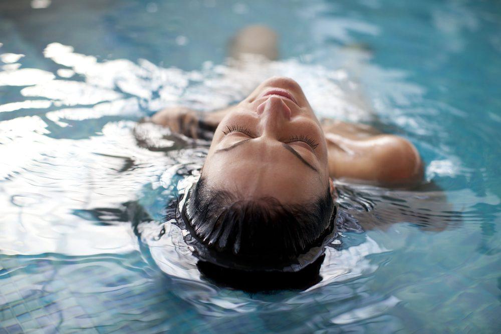 summer health hazards 6_woman swimming