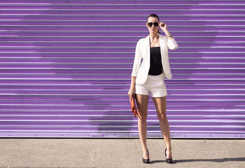 summer health hazards 10_woman in shorts