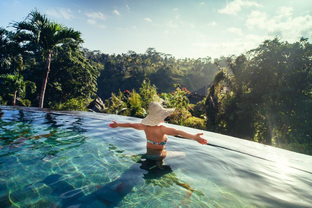 summer health hazards 4_woman in pool