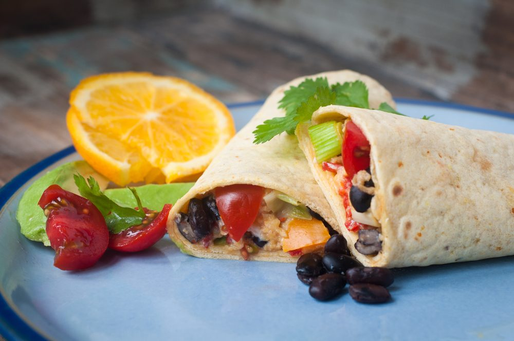 healthy breakfast burrito_hard-boiled egg recipes