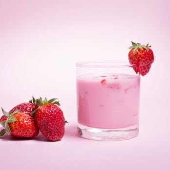 Immunity-Boosting Strawberry Smoothie