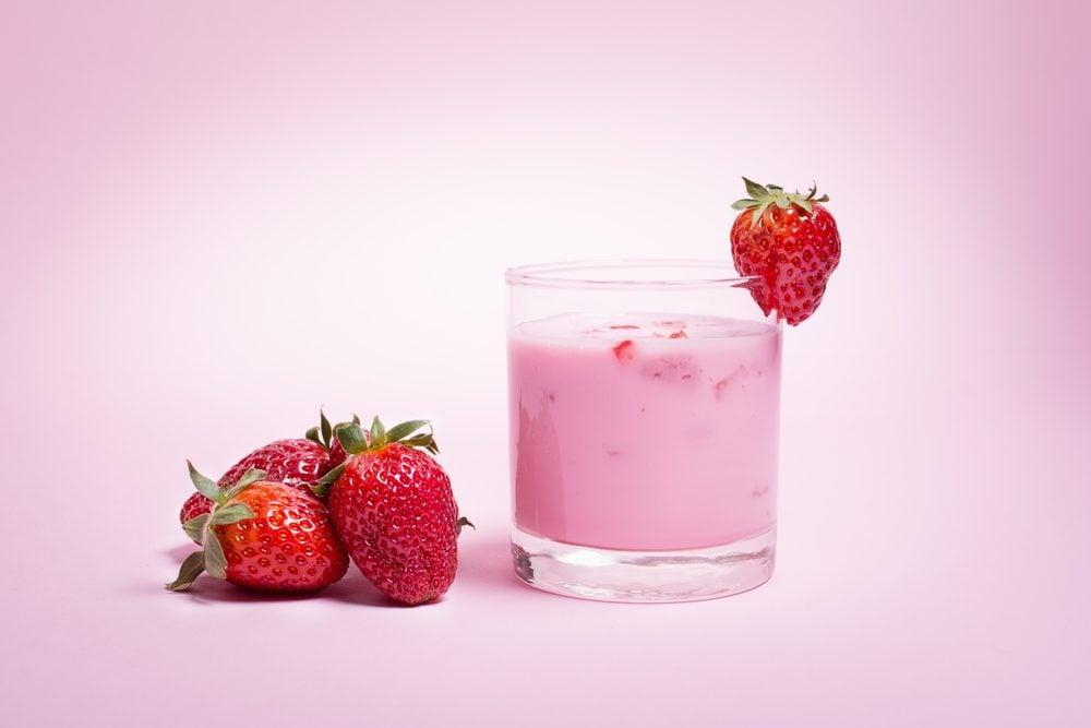 Immunity-Boosting Strawberry Smoothie