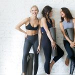 Yoga Wear, young women ready for a yoga class