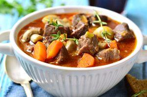 Lamb, Vegetable & Beer Stew