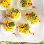 Mother's Day Brunch Deviled Eggs