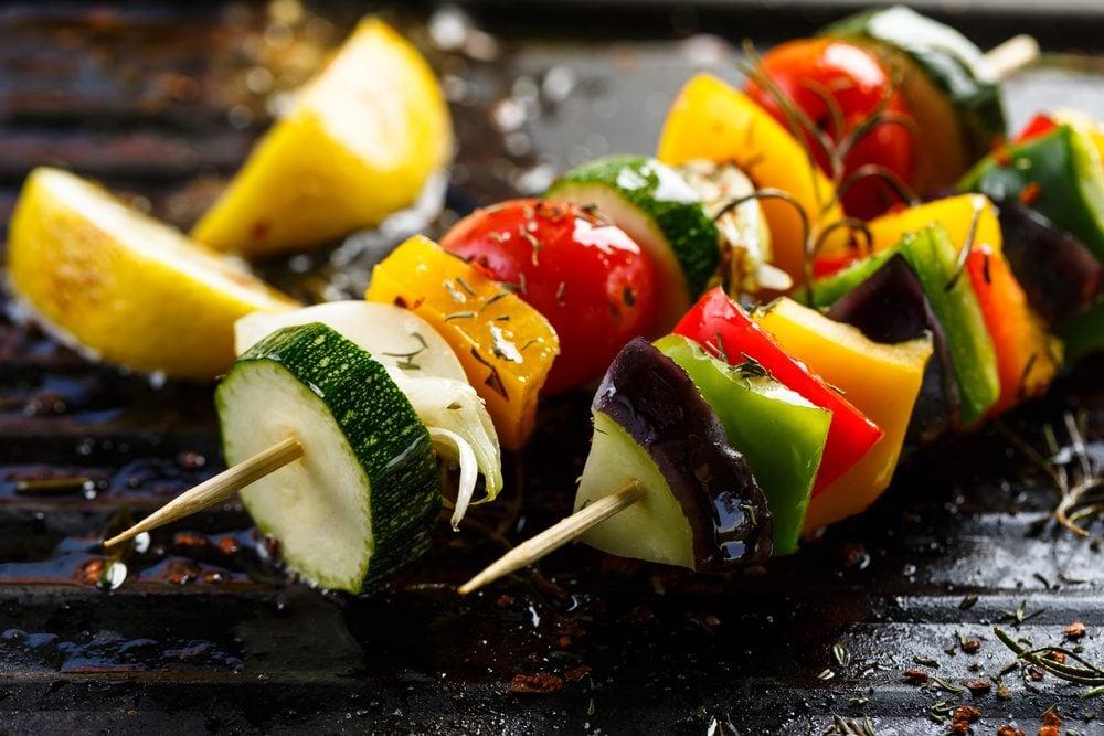 Italian Vegetable Kebabs