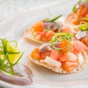 Salmon Mango Ceviche