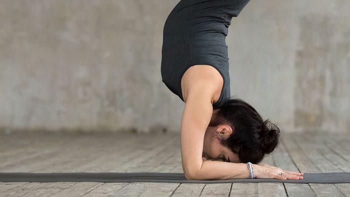 Yoga Injuries, headstand