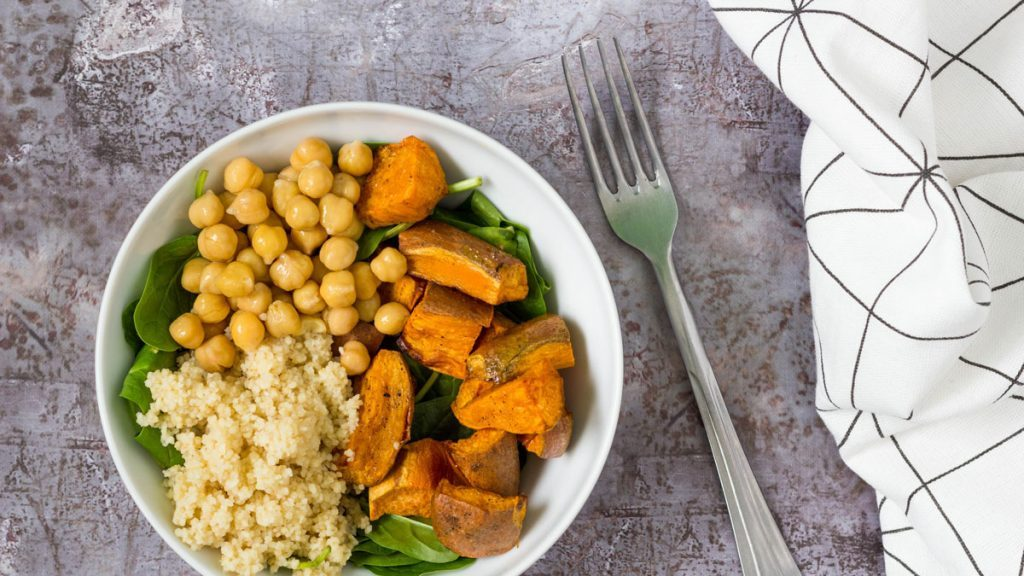 Sweet Potato Couscous