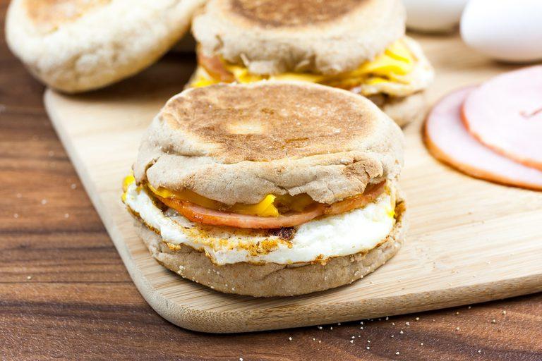 The Ultimate Healthy Breakfast Sandwich   egg recipes