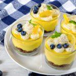 Summer Citrus Mousse Parfait