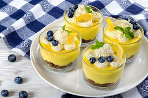Summer Citrus Mousse Parfait