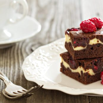 Cream Cheese Raspberry Brownies