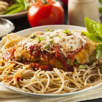 Healthy Chicken Parmesan