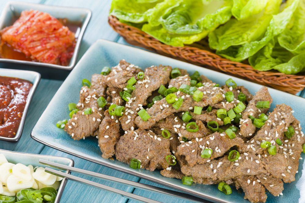 Beef Bulgogi Salad Rolls