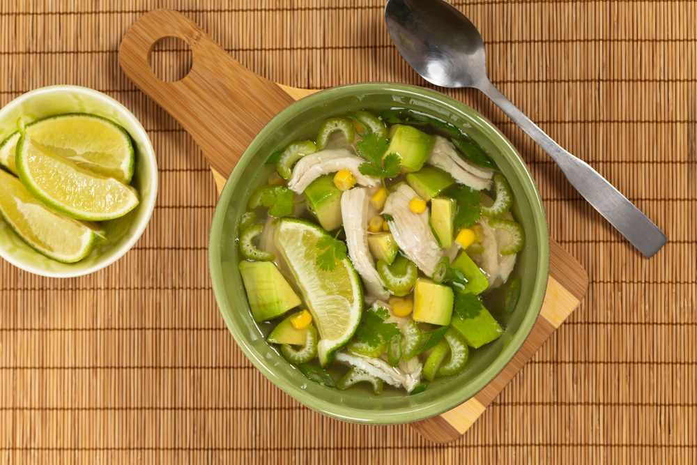Healthy Diet Recipe Packed With Flavour: Soupa de Lima (Lime Soup)