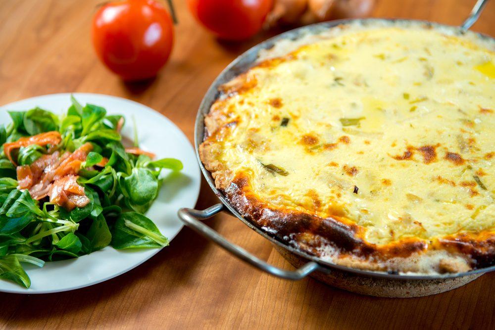 Zucchini Carrot Crustless Quiche | egg recipes
