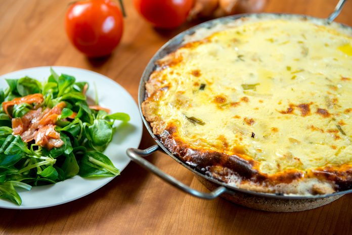 Zucchini Carrot Crustless Quiche | egg recipes