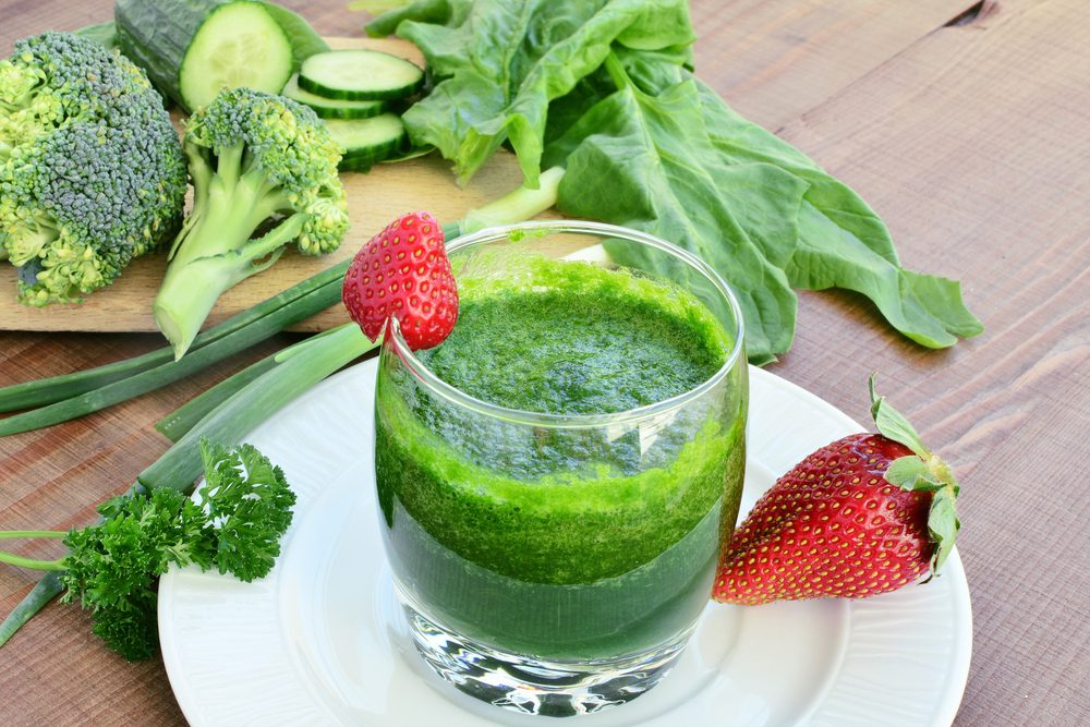 Strawberry & Greens Smoothie