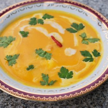 Thai Sweet Potato and Coconut Soup
