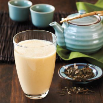 Green Tea & Mango Smoothie