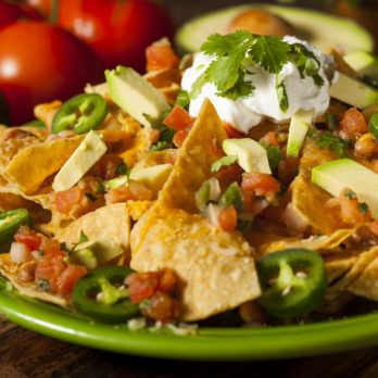 Turkey-Chili Nachos