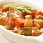 Vegetable & Pork Coconut Curry