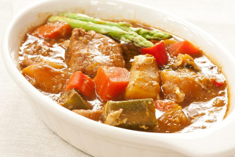 Pork and Vegetable Curry Recipe