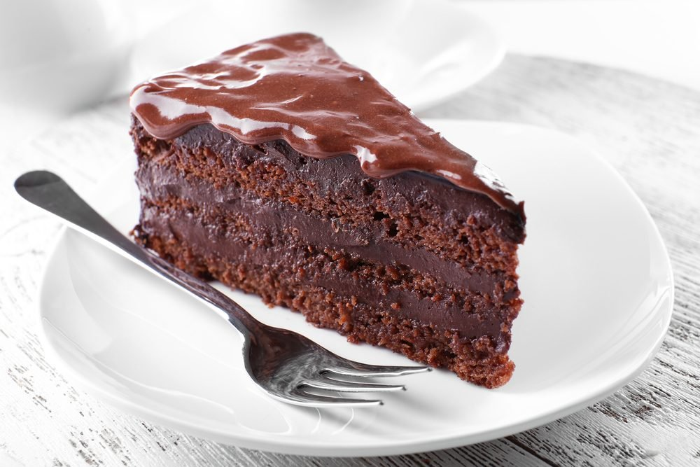 Healthy Chocolate Cake With Applesauce