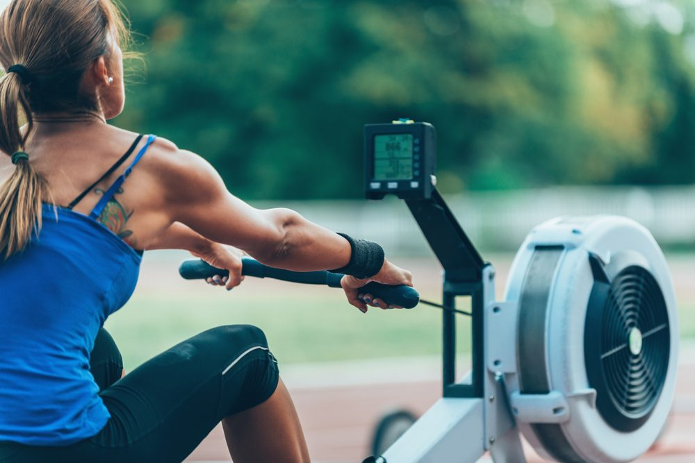 best gym machines for weight loss _ rowing