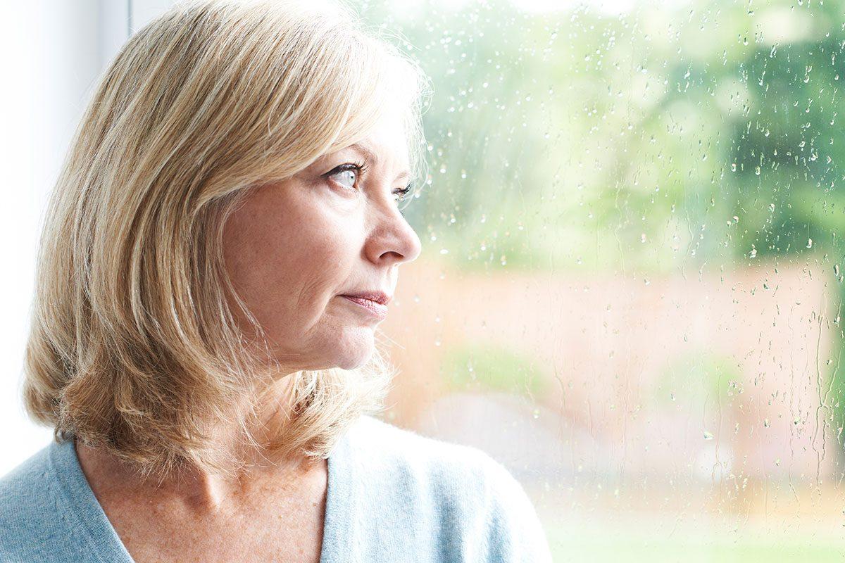 Heart Disease In Women, woman looking out window