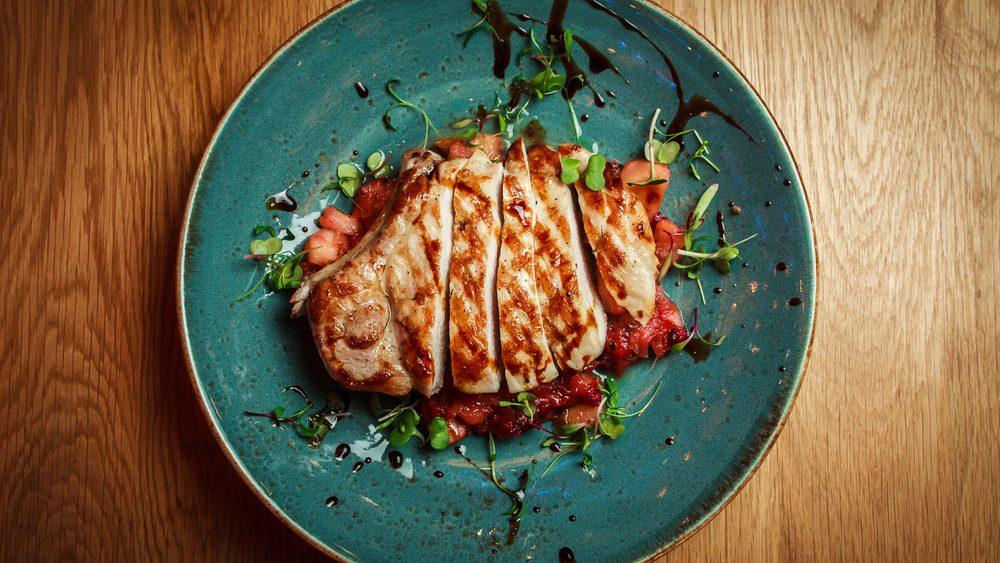 flat tummy foods chicken