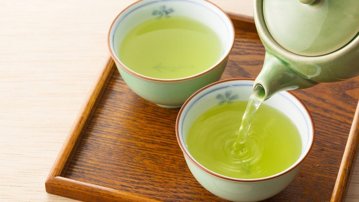 flat tummy green tea