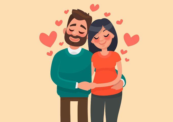 husband had an affair_ couple in love