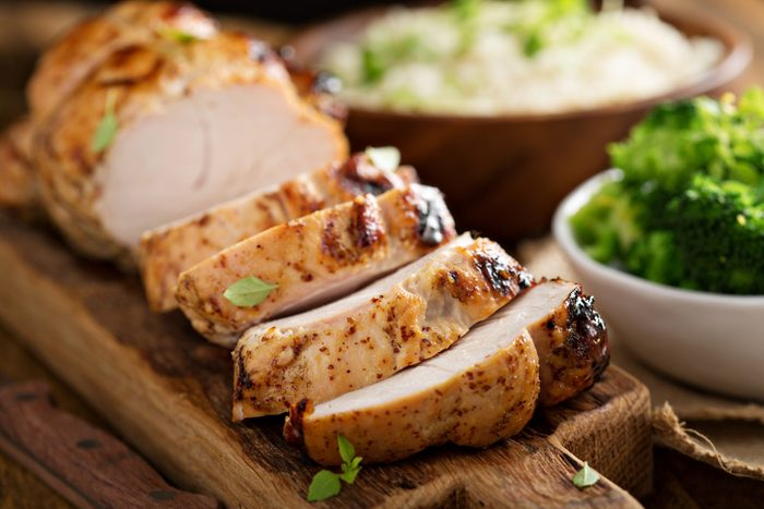 turkey breast__ nutrients for anxiety