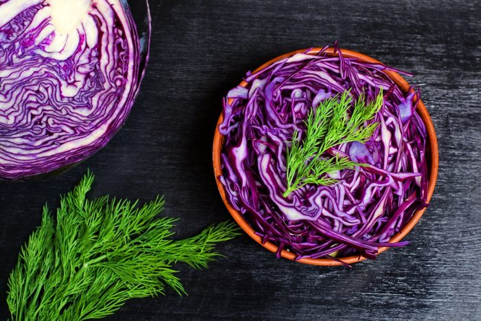 prevent high cholesterol _red cabbage