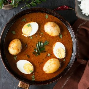 Nutty Egg Curry