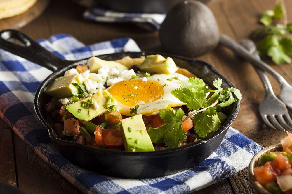 Egg Tacos with Avocado Sauce | egg recipes