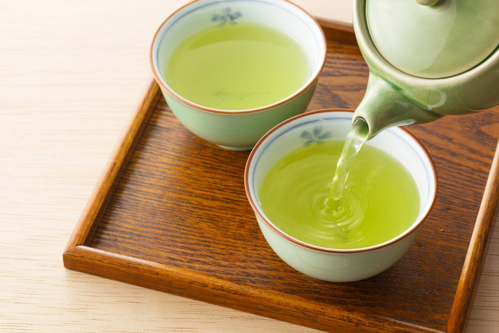 green tea _Eat for glowing skin