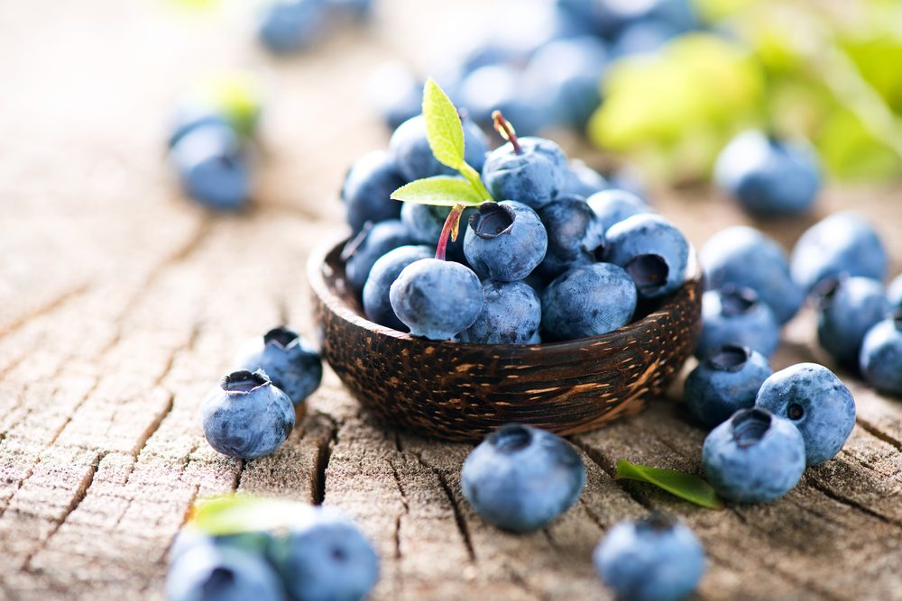 burn belly fat_ blueberries
