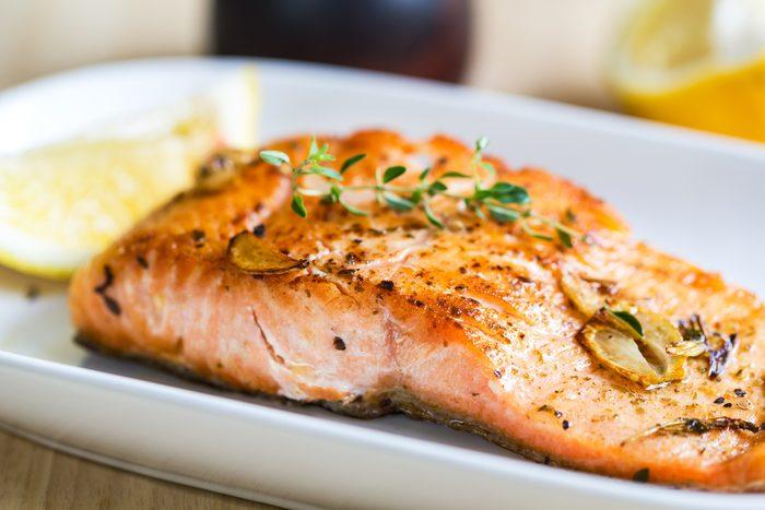 burn belly fat_ salmon