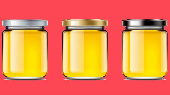 sore throat home remedies honey jars