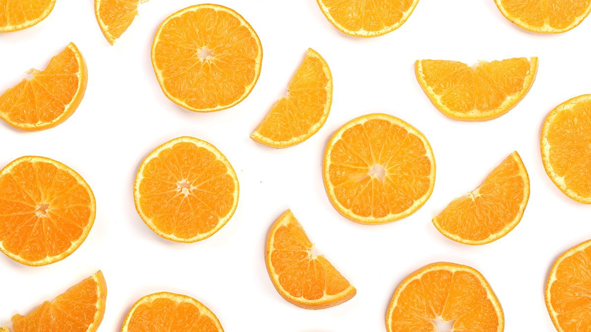 Foods High In Vitamin C, orange slices