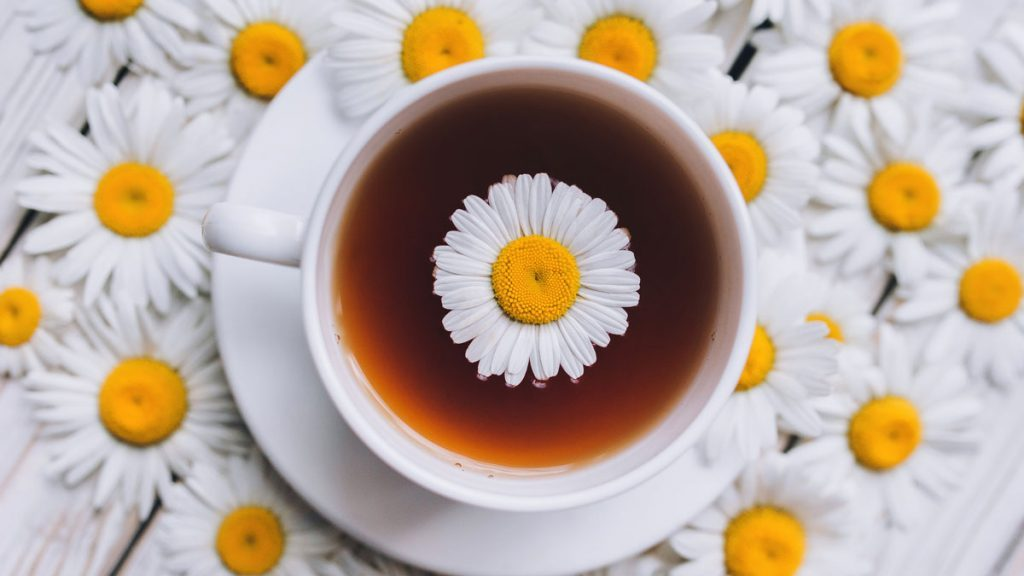 health benefits of herbal tea chamomile