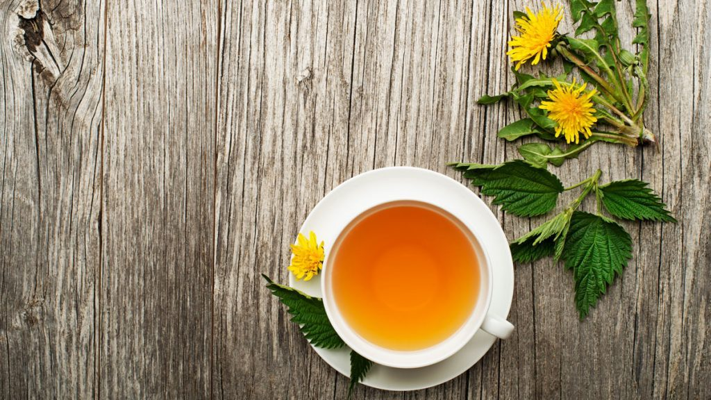 health benefits of herbal tea dandelion