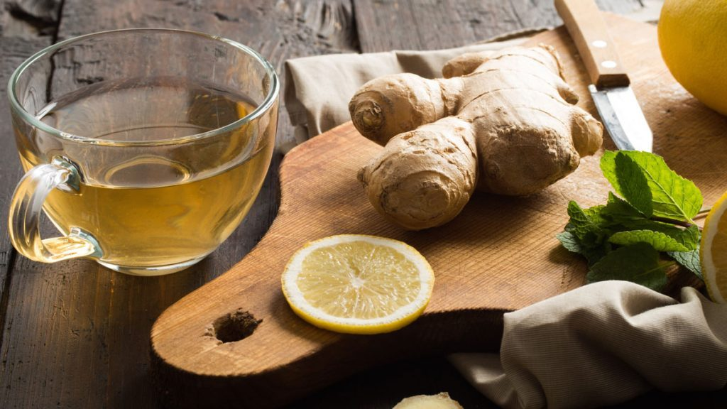 health benefits of herbal tea ginger