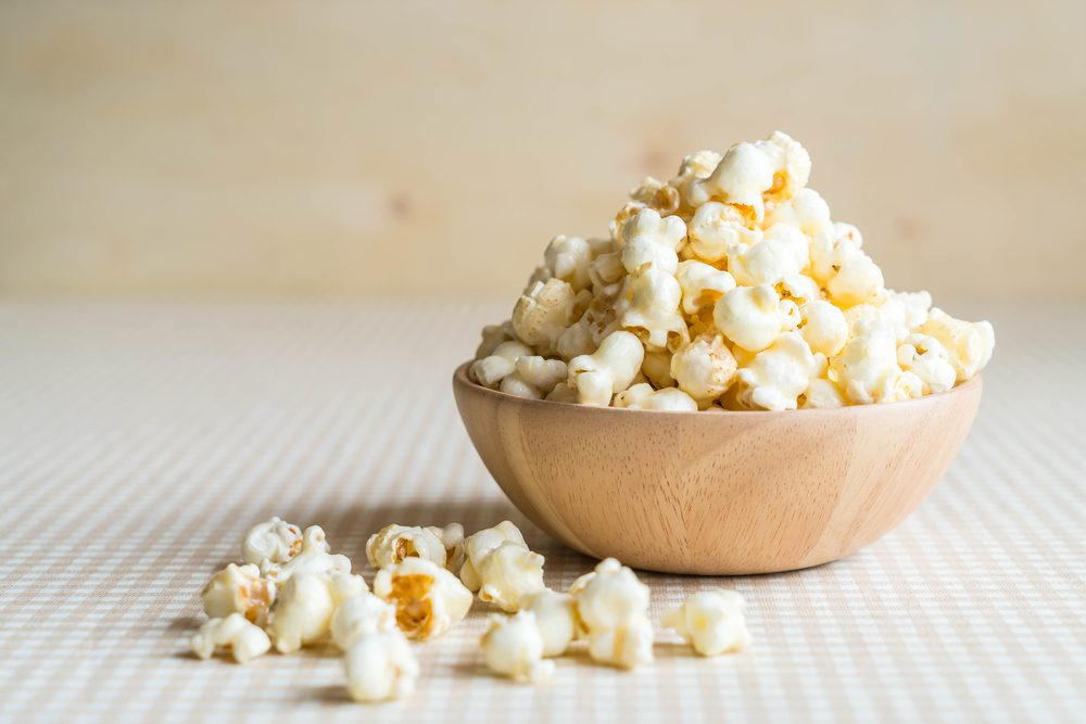 health benefits of popcorn