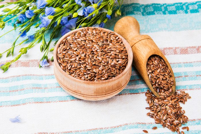 healthy seeds _flax seeds